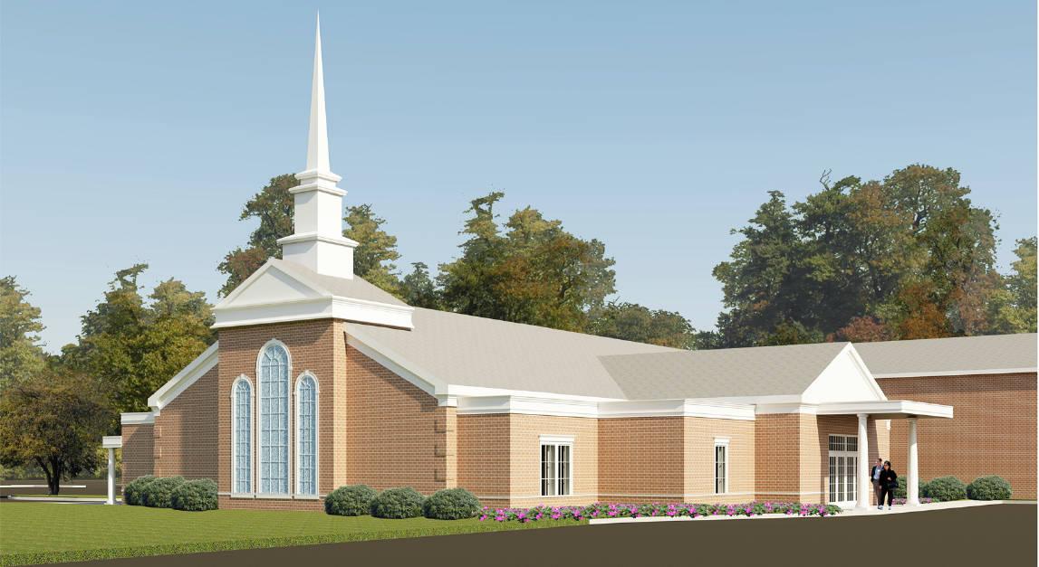 Blountville Baptist_Exterior Rendering_101713