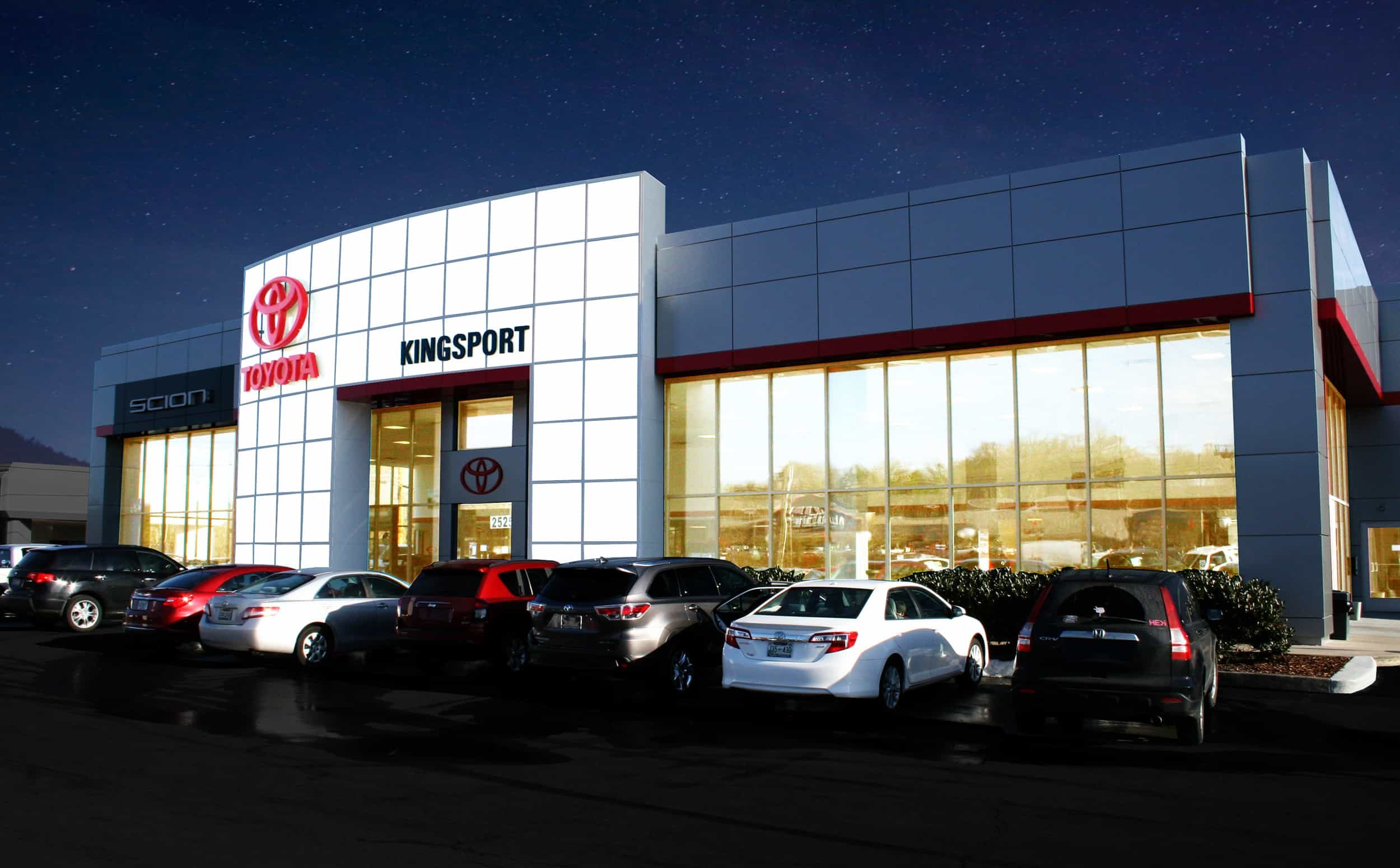 Toyota of Kingsport Exterior